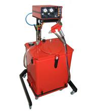 Распылительное оборудование для порошковой окраски с бункером-дозатором